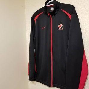 Nike Team Canada Hockey Zip-Up Sweater